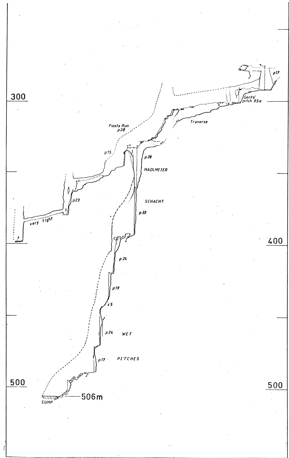 Lower half of survey of 1623/76 (aka 106)